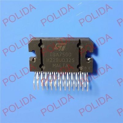 1pcs Audio Power Amplifier Ic St Zip-25 Tda7560