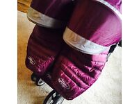 Baby Jogger City Mini Twin Pushchair Purple