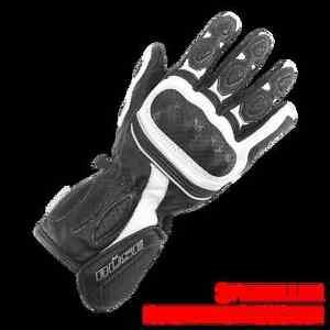 BUSE-PIT-LANE-Mujer-Motocicleta-Guante-color-negro-WS-gr-5