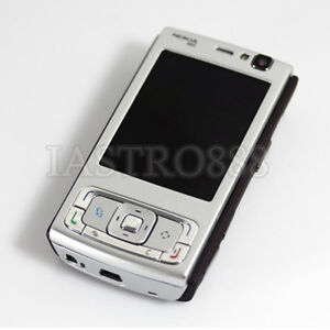 Brand New Nokia N95 Phone Slide Symbian 5MP WiFi GPS Bluetooth Unlocked Silver