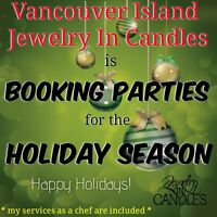 Booking Holiday Candle Parties