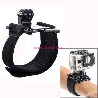 Gopro hero 5 fascia da polso per videocamere