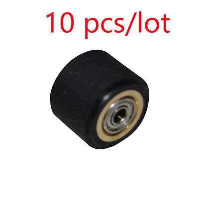 10 Pcs Pack Silica Gel Pinch Roller Wheel For Liyu Vinyl Cutter