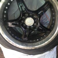 "17"" core racing Rims"