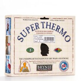 Brynje Super Thermo Mesh baselayer longs sz xl New!