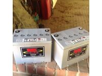 74aH 12volt mobility scooter batteries