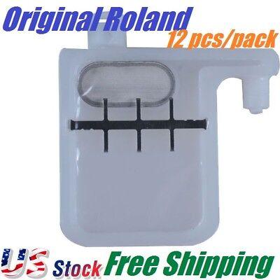 Us Stock - Roland Xc-540 Xj-640 Big Damper With Big Filter 12 Pcs Pack Oem