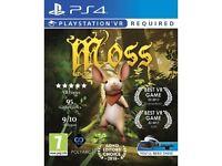 Playstation VR + Moss