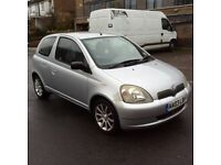 Toyota Yaris colour collection vvti