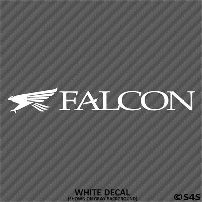 Falcon Graphite Fishing Rods Outdoor Sports Vinyl Decal Sticker V2- Choose Color