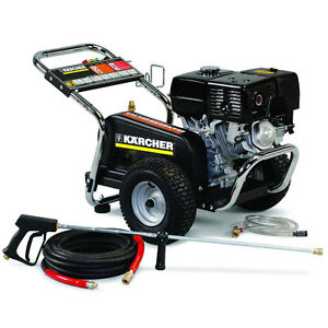 3000 psi pressure washer karcher professional 3000 psi gas cold water belt drive 28579
