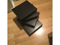 IKEA Black Lack Shelves (4)