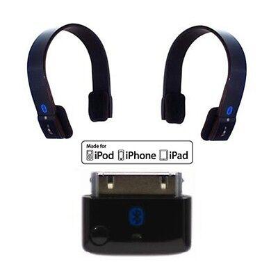 KOKKIA i10 Multi-Row Bluetooth iPod Transmitter PLUS 2 S10 Stereo Headsets