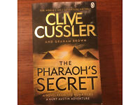 Paperback Clive Cussler Novel