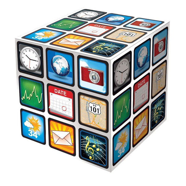 Blocked Puzzle Cube Brain Teaser Twist Turn /& Solve Christmas Stocking Filler