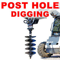 POST HOLE DIGGING