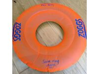 Swimming aid float ring