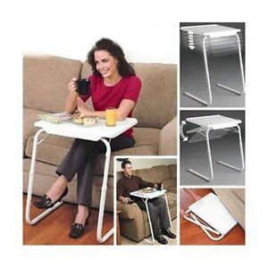 Mesa table mate plegable auxiliar bandeja para cama sofa - Cama auxiliar plegable ...
