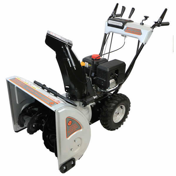 "Dirty Hand Tools (24"") 212cc Two-stage Snow Blower"