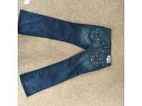 2 pairs of true religion jeans 36r