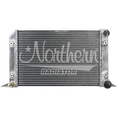 Scirocco All Aluminum Radiator   21 12 x 12 916 x 3 18 No Fill Neck