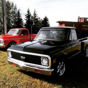 1969 C10 Shortbox Stepside 496 BBC.Trade SRT Jeep / newer Truck