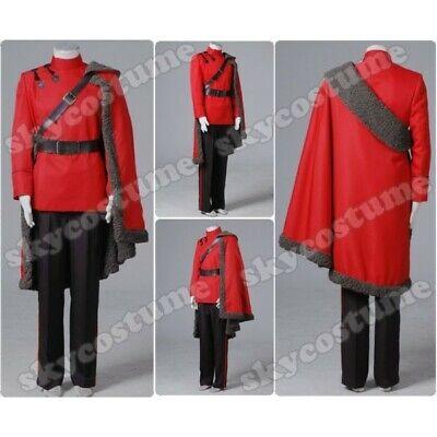 Harry Potter ViKtor Krum Cosplay Costume Red Robe Full Set Halloween Uniform](Viktor Krum Costume)