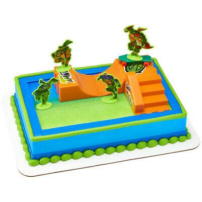 New Teenage Mutant Ninja Turtles Cake Topper Turtles Rise - Ninja Turtle Cake Topper