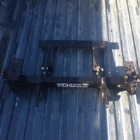 Boss snow plow undercarriage mount for A Chev  or GMC 2500
