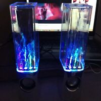 Two Colourful Water Speakers!