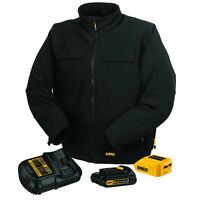 Dewalt - Heated Jacket with 20-Volt Max battery and charger.