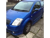 (Car) citroen c2 54 plate for needs new engine or for spare parts