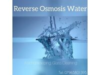 Reverse Osmosis water for fish keepers, and cleaners marine tropics fish tank aquarium