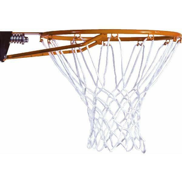 Slam-it Basketball Rim Spring-back Action Solid Steel All Weather Net Home Court
