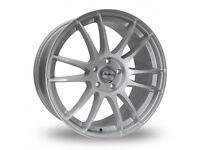 """18"""" Alloy Wheels VW Seat Audi Skoda Leon Golf Jetta Passat Exeo Octavia"""