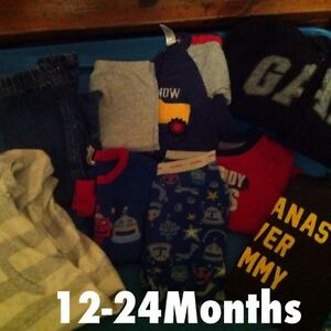 12-24, 2t, 3t, 4t boys clothing