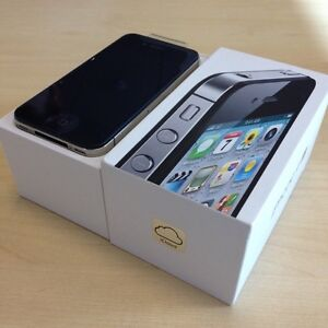 IPHONE 4S 16G ORIGINAL NEW,  ACCESSORIES AND WARRANTY