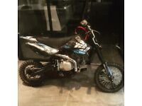 140cc stomp pit bike