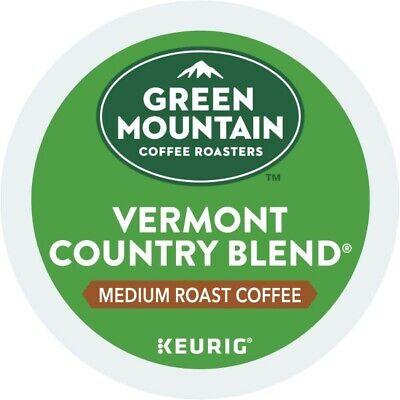 Green Mountain Coffee Vermont Country Blend Keurig K-Cup Pod, Medium Roast, (Green Mountain Vermont)