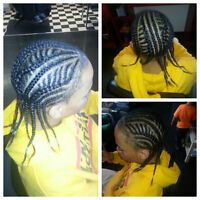Affordable Braids and cornrows