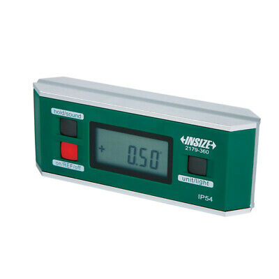 Insize Electronic Digital Level And Protractor 0-36090 4 Ip54 2179-360