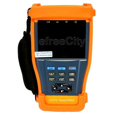 "3.5"" inch LCD Monitor CCTV Security Test Tester Camera Video PTZ Audio UTP 12V"