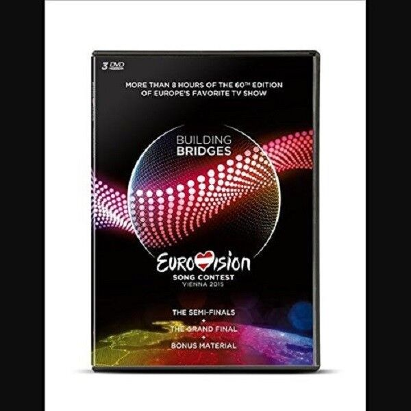 EUROVISION SONG CONTEST,VIENNA 2015 3 DVD (480 min) NEU