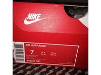 Men's Triple Black Nike Air Huarache