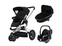 Quinny Buzz 3, Carrycot & Pebble Package