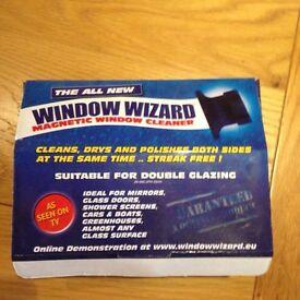 Window wizard window cleaner double glazing