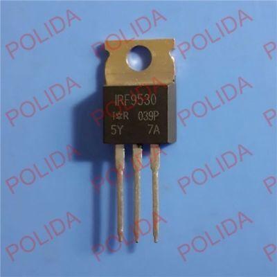 10pcs Mosfet Transistor Irvishay To-220 Irf9530 Irf9530pbf F9530