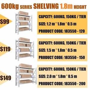 New Longspan Storage Shelving Rack Garage Warehouse Factory Shelf Brisbane City Brisbane North West Preview