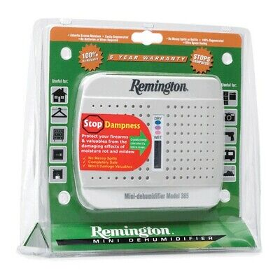 Remington 19950 Model 365 Wireless Gun Safe Storage Mini Dehumidifier