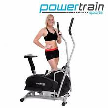 confidence fitness 2-in-1 elliptical cross trainer & exercise bik Castle Hill The Hills District Preview